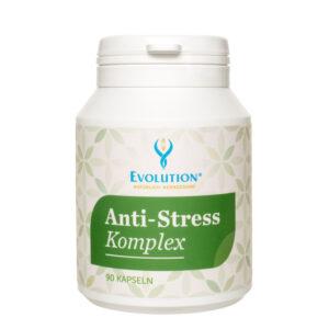 Protistresový komplex - päť rastlín zlepšuje a poskytuje novú energiu, zároveň pomáha ako záťažová brzda. Brzdí emocionálny a fyzický stres.