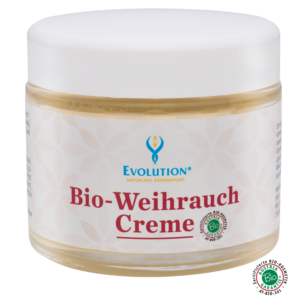 Bio kadidlový krém 100% alkalická prírodná kozmetika na vtieranie proti bolestiam pohybového aparátu, zápalom a kožným problémom.