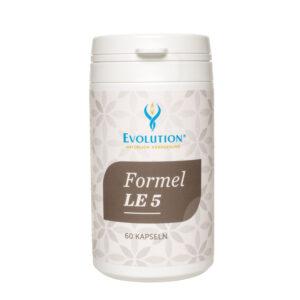 Formula LE 5 s bodliakom, artičokom, kurkumou, palinou a púpavou Ako centrálny detoxikačný orgán organizmu je pečeň obzvlášť vystavená zvyšujúcemu sa znečisteniu životného prostredia. Moderná strava a životný štýl kladú ďalšiu záťaž na pečeň. Vysokokvalitný prírodný komplex LE 5 prispieva k normálnej funkcii pečene a žlče.