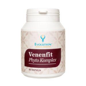 Venenfit Phyto Komplex – rastlinná energia na podporu žilového systému. Žily robia najťažšiu prácu každý deň. Tisíce litrov krvi prúdia do srdca každý deň cez žily. Preto je dôležité venovať osobitnú pozornosť žilám s pribúdajúcim vekom.